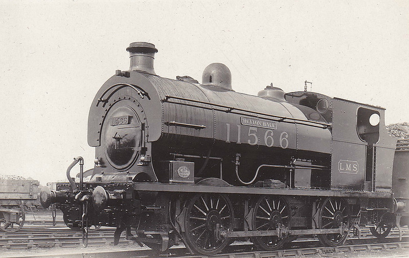 C&WR - 11566 - 0-6-0ST - built 1907 by Peckett & Co., Works No.1134 as No.8 HUTTON HALL - 1924 to LMS No.11566 - 12/27 withdrawn - seen here at Barrow.