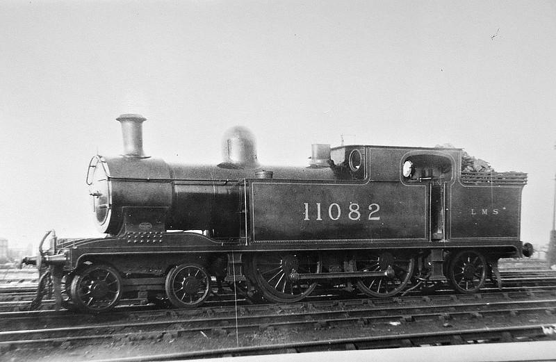 FR - 11082 - Pettigrew FR Class M1 4-4-2T - built 1916 by Vulcan Foundry Co. as FR No.40 - 1923 to LMS No.11082 - 1940 withdrawn.