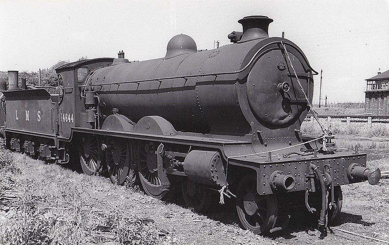 CR - 14644 - Pickersgill CR/LMS Class 60 4P 4-6-0 - built 10/26 by St Rollox Works - BR No.54644 not applied - 04/48 withdrawn from 66B Motherwell.