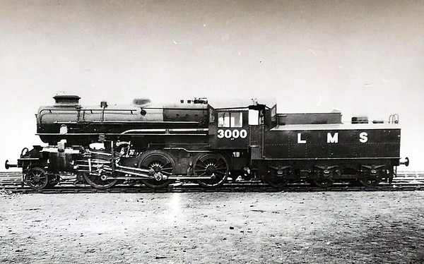 LMS - 3000 - Ivatt LMS Class 4MT 2-6-0 - built 12/47 by Horwich Works - 10/50 to BR No.43000 - 09/67 withdrawn from 52F North Blyth - Works picture.