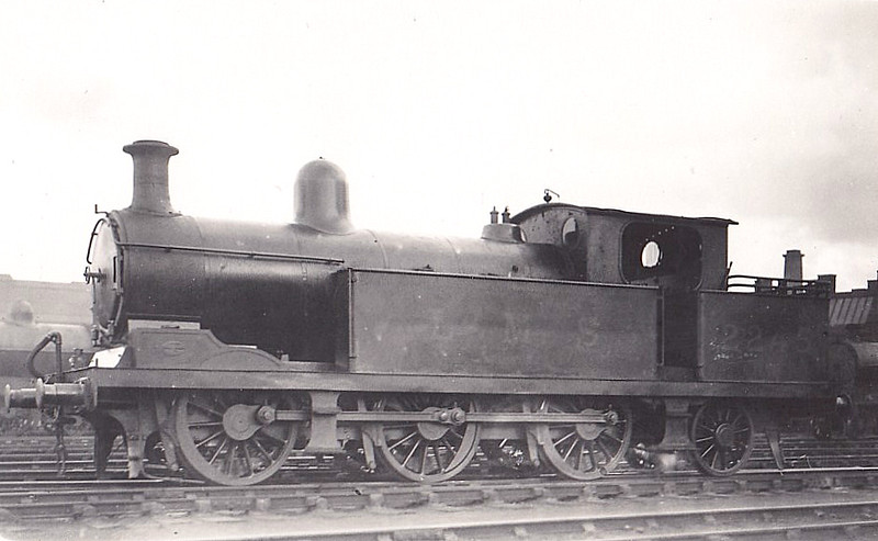 NSR - 2245 - Adams NSR Class L 3F 0-6-2T - built 12/03 by Stoke Works as NSR No.168 - 1923 to LMS No.2245 - 08/34 withdrawn.