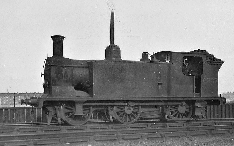 CR - 16367 - McIntosh CR Class 782 3F 0-6-0T - built 07/21 by St Rollox Works as CR No.249 - 1923 to LMS No.16367, 01/48 to BR No.56367 - 02/60 withdrawn from 66B Motherwell.