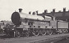 LNWR - 5928 J.A.F ASPINALL - Bowen-Cooke LNWR 'Claughton' Class 5XP 4-6-0 - built 09/16 by Crewe Works as LNWR No.2395 - 1923 to LMS No.5929 - 02/35 withdrawn.