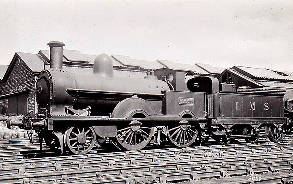 LNWR - ENGINEER WATFORD - Webb LNWR 'Waterloo' Class 2-4-0 - built 05/1894 by Crewe Works as LNWR No.793 MARTIN - 1923 transferred to Engineer's Dept. as ENGINEER WATFORD - 04/36 withdrawn - 9 locomotives of this class were transferred to various engineering departments from 1914 onwards.