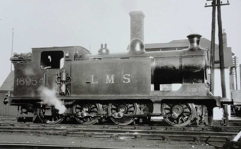 CR - 16954 - McIntosh CR Class 492 0-8-0T - built 1904 by St Rollox Works as CR No.496 - 1923 to LMS No.16504, 1926 to LMS No.16954 - 1932 withdrawn.