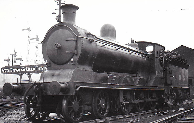 CR - 14604 - McIntosh CR Class 55 4-6-0 - built 1902 by St Rollox Works as CR No.59 - 1923 to LMS No.14604 - 1936 withdrawn.