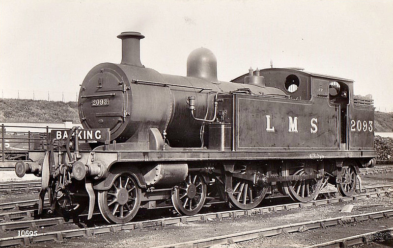 LTSR - 2093 - Whitelegg LTSR Class 51 4-4-2T - built 09/00 by Sharp Stewart & Co. as LTSR No.52 WENNINGTON - 1912 to MR No.2159, 1930 to LMS No.2093 - BR No.41911 not applied - 03/53  withdrawn from 18A Toton.