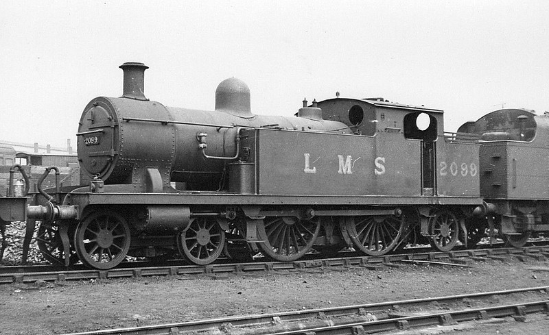 LTSR - 2099 - Whitelegg LTSR Class 51 2P 4-4-2T - built 10/00 by Sharp Stewart & Co. as LTSR No.58 HORNSEY - 1912 to MR No.2165, 1930 to LMS No.2099 - BR No.41917 not applied - 03/51 withdrawn from 16A Nottingham.