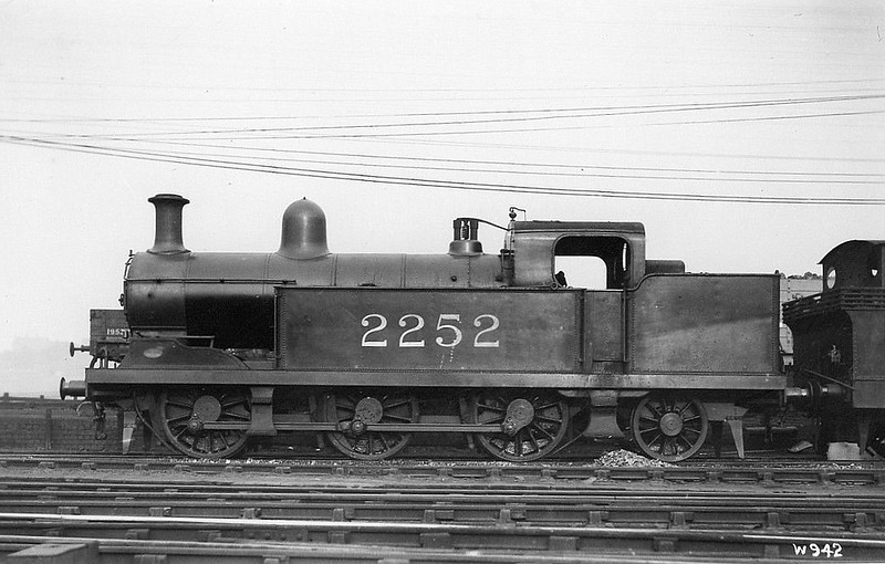 NSR - 2252 - Hookham NSR Class New L 3F 0-6-2T - built 06/09 by Stoke Works as NSR No.95 - 1923 to LMS No.2252 - 04/34 withdrawn.