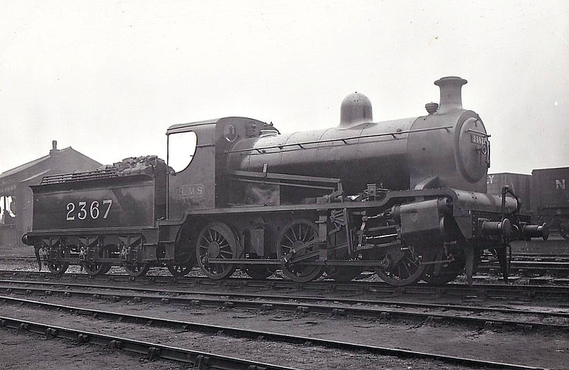 NSR - 2367 - Hookham NSR Class D 4-Cylinder 3P 0-6-0T - built 1922 by Stoke Works as NSR No.23 - rebuilt as 4-cylinder 0-6-0 - 1923 to LMS No.2367 - 12/28 withdrawn.