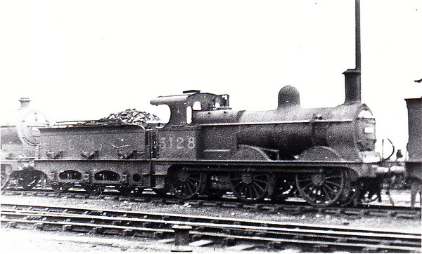 MR - 3128 - Johnson Class 1357 2F 0-6-0 - built 1884 by Beyer Peacock & Co., Works No.2227, as MR No.1630 - 1907 to MR No.3128 - 1923 to LMS - 1934 withdrawn.