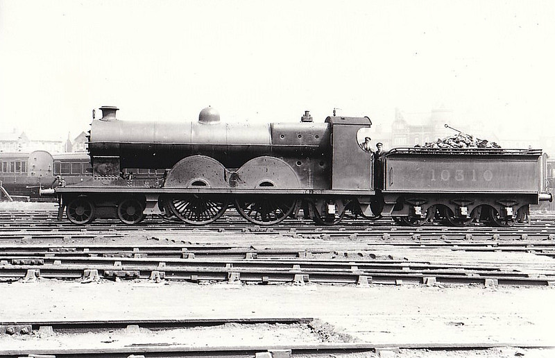 LYR - 10310 - Aspinall LYR 'Highflyer' Class 1400 4-4-2 - built 1899 by Horwich Works as LYR No.1402 - 1923 to LMS No.10310 - 1933 withdrawn.