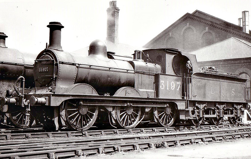 MR - 3197 - Johnson MR Class 1798 2F 0-6-0 - built 1888 by Derby Works as MR No.1805 - 1933 withdrawn.
