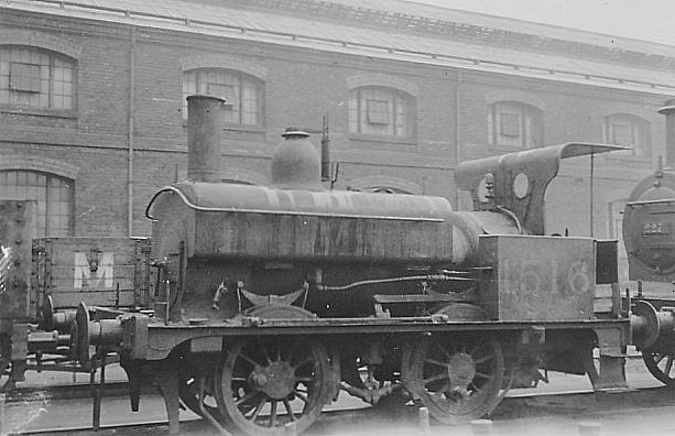 MR - 1516 - Johnson MR Class 1116 0F 0-4-0ST - built 08/1893 by Derby Works as MR No.1132 - to Duplicate List as No.1132A - 1907 to LMS No.1516, 09/48 to BR No.41516 - 10/55 withdrawn from 17B Burton.