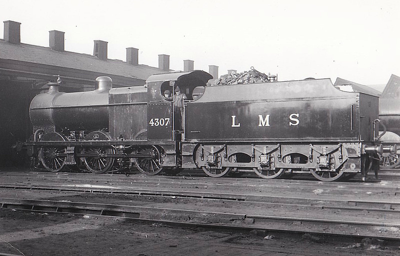 LMS - 4037 - Fowler LMS Class 4F 0-6-0 - built 10/26 by Crewe Works - 05/48 to BR No.44037 - 10/62 withdrawn from 5D Stoke.