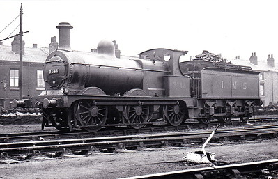 MR - 3148 - Johnson Class 1698 2F 0-6-0 - built 1885 by Derby Works as MR No.1716 - 1907 to MR No.3148 - 1923 to LMS - 1933 withdrawn - seen here at Grimethorpe in May 1932.