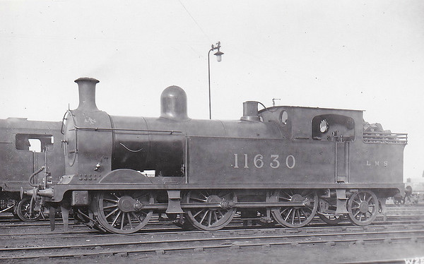 FR - 11630 - Pettigrew FR Class L2 0-6-2T - built 1904 by North British Loco Co., Works No.16113 as FR No.103 - 1923 to LMS No.11630 - all withdrawn by 1934.