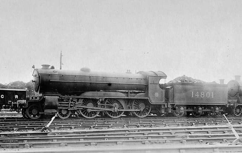 CR - 14801 - Pickersgill CR Class 956 4-6-0 - built 1921 by St Rollox Works as CR No.957 - 1923 to LMS No.14801 - 1934 withdrawn.