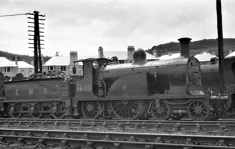 CR - 14010 - Drummond CR Class 123 4-2-2 - built 1886 by Neilson & Co, Works No.3553 - 1923 to LMS No.14010 - 1935 withdrawn - preserved at NRM.