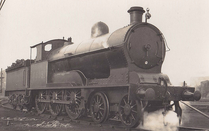 LNWR - 5508 BUCKLAND - Whale LNWR 'Experiment' Class 4-6-0 - built 02/09 by Crewe Works as LNWR No.2625 - 05/27 to LMS No.5508, 04/34 to LMS No.25508 - 08/35 withdrawn.