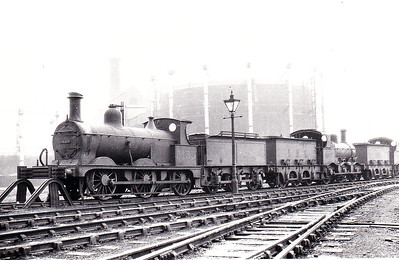 MR - 3135 - Johnson Class 1698 2F 0-6-0 - built 1885 by Derby Works as MR No.1703 - 1907 to MR No.3135 - 1923 to LMS - 1934 withdrawn - seen here at Derby