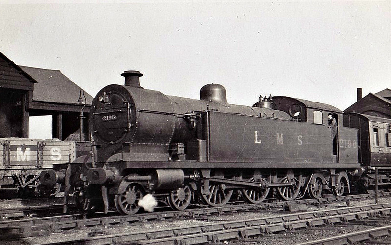 LTSR - 2196 - Whitelegg LTSR Class 2100 3P 4-6-4T - built 05/13 by Beyer Peacock Ltd as MR No.2104 - 1929 to LMS No.2196 - withdrawn 12/32.