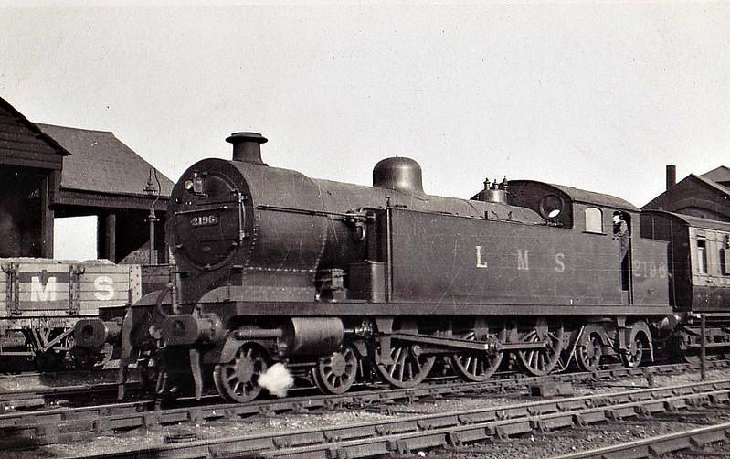 LTSR - 2196 - Whitelegg LTSR Class 2100 3P 4-6-4T - built 05/13 by Beyer Peacock Ltd as LTSR No.2104 - 1923 to LMS No.2196 - withdrawn 12/32.