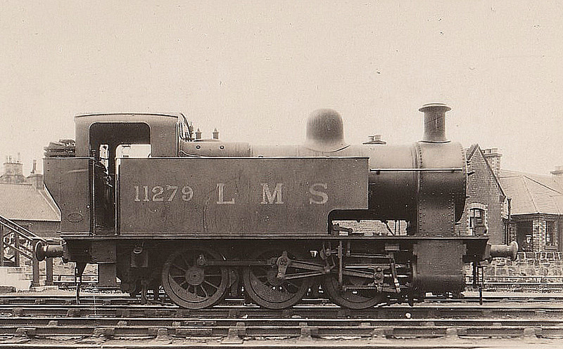 LMS - 11279 - Fowler LMS Class 2F 0-6-0T - built 01/29 by Derby Works - 1932 to LMS No.7169, 05/51 to BR No.47169 - 09/59 withdrawn from 66D Greenock Ladyburn.