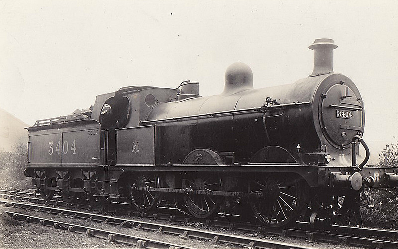 MR - 3404 - Johnson MR Class 2F 0-6-0 - built 1893 by Sharp Stewart & Co. as MR No.2127 - 1907 to MR No.3404 - 04/26 withdrawn - seen here at Cricklewood, 04/23.
