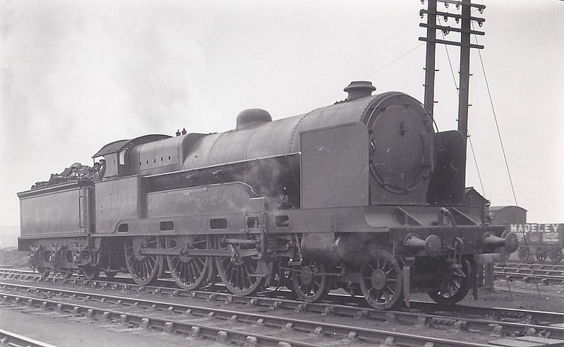 LNWR - 6017 BREADALBANE - Bowen-Cooke LNWR 'Claughton' Class 5XP 4-6-0 - built 04/21 by Crewe Works as LNWR No.169 - 01/27 to LMS No.6017 - 10/40 withdrawn.