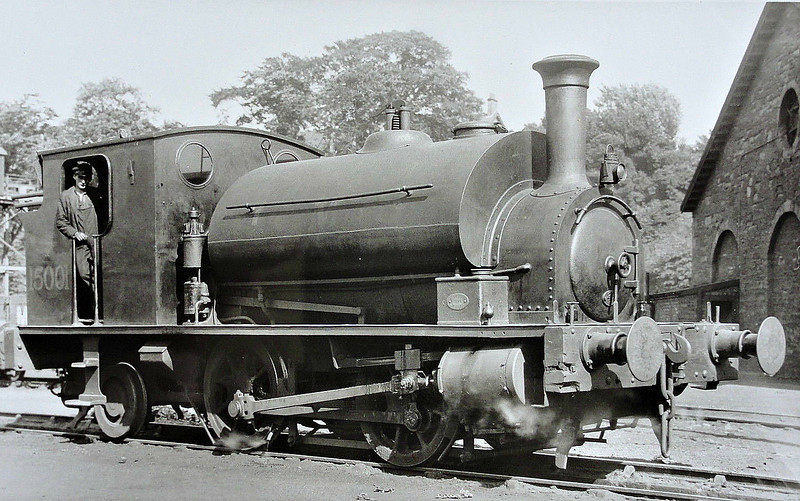 CR - 15001 - Drummond CR Class 262 0-4-2ST - built 1885 by St Rollox Works - 1923 to LMS No.15001 - 1947 withdrawn.
