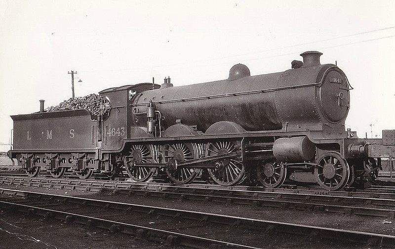 CR - 14643 - Pickersgill CR/LMS Class 60 4P 4-6-0 - built 10/26 by St Rollox Works - 01/48 to BR No.54643 - 02/48 withdrawn from 66B Motherwell.