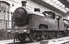 MR - 2005 - Deeley MR Class 3P Flatiron 0-6-4T - built 1907 by Derby Works - 1936 withdrawn - seen here in Derby Works Paint Shop, 1933.