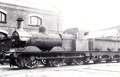 MR - 3114 - Johnson Class 1357 2F 0-6-0 - built 1884 by Beyer Peacock & Co., Works No.2213, as MR No.1616 - 1907 to MR No.3114 - 1923 to LMS - 1947 withdrawn.