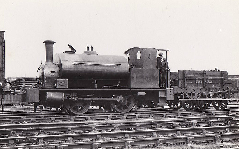 CR - 16011 - Drummond CR Class 264 'Pug' 0F 0-4-0ST - built 07/1885 by St Rollox Works as CR No.270 - 1923 to LMS No.16011, 01/52 to BR No.56011 - withdrawn 01/59 from 60A Inverness.