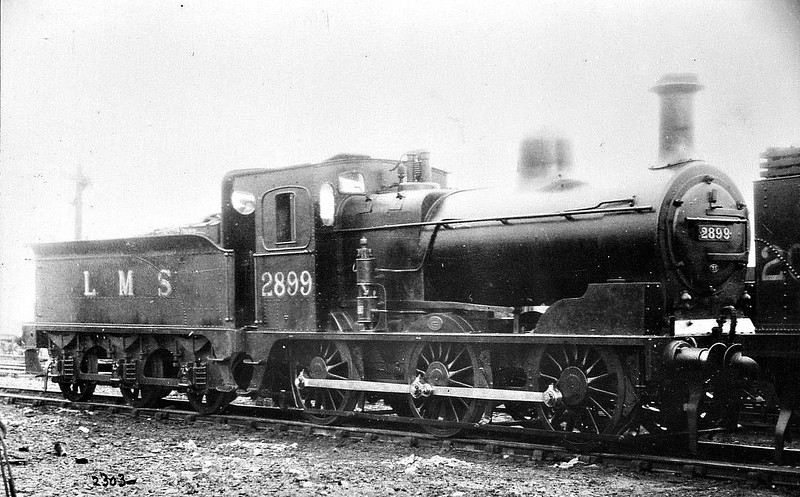 LTSR - 2899 - LTSR Class 49 2F 0-6-0 - built 1898 by Sharp Stewart & Co. for the Ottoman Railway, not delivered, sold to LTSR as No.50 - 1912 to MR No.2899, 1923 to LMS No.22899 - 1936 withdrawn.