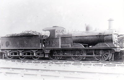 MR - 3113 - Johnson Class 1357 2F 0-6-0 - built 1883 by Beyer Peacock & Co., Works No.2212, as MR No.1615 - 1907 to MR No.3113 - 1923 to LMS - 03/49 to BR No.58224 - 11/56 withdrawn from 17D Rowsley.