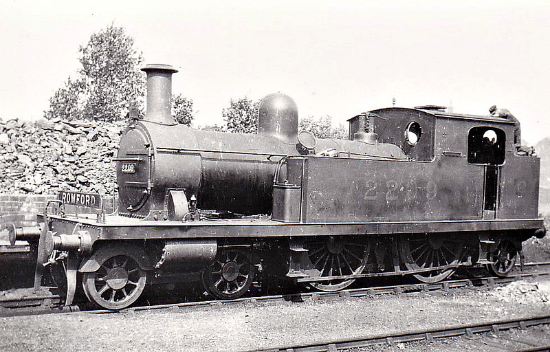 LTSR - 2209 - Whitelegg LTSR Class 1 4-4-2T - built 1880 by Sharp Stewart & Co. as LTSR No.10 GRAYS - 1912 to MR No.2119, 1923 to LMS No.2209, 1930 to LMS No.2086 - 1930 withdrawn.