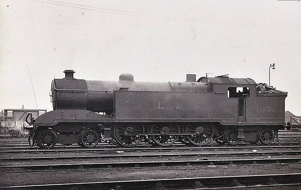FR - 11102 - Rutherford FR Class 115 3P 4-6-4T - built 1920 by Kitson & Co. as FR No.117 - 1923 to LMS No.11102 - 11/32 withdrawn - seen here at Barrow in Furness, 07/32.
