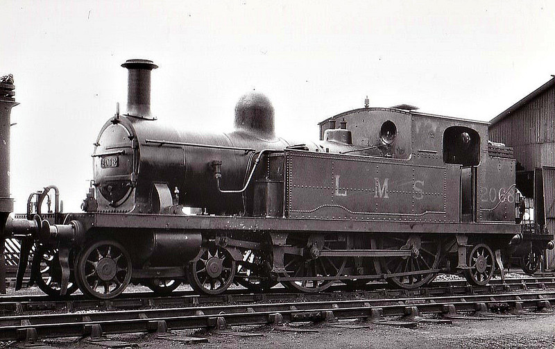 LTSR - 2068 - Whitelegg LTSR Class 1 4-4-2T - built 1881 by Sharp Stewart as LTSR No.17 THAMESHAVEN - 1912 to MR No.2126, 1923 to LMS No.2191, 1930 to LMS No.2068 - 1935 withdrawn - seen here at Tilbury, 09/32.