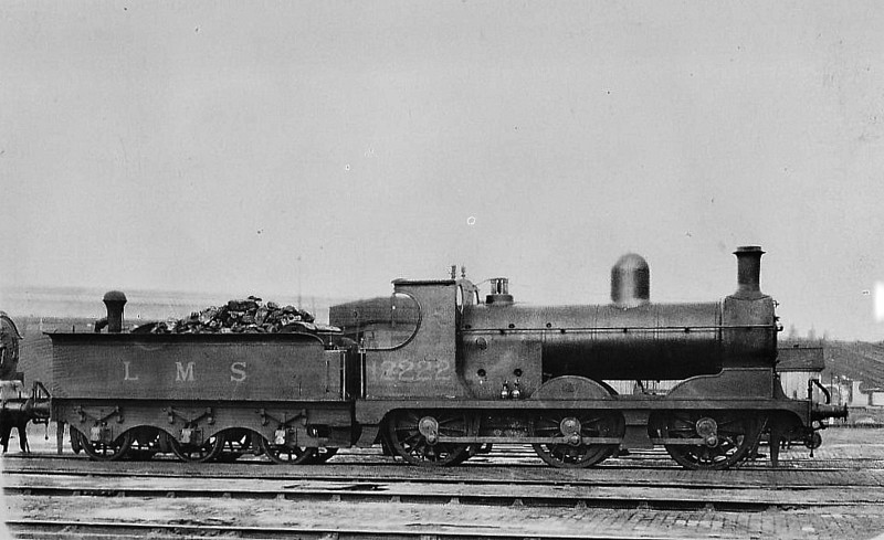 LYR - 12222 - Aspinall LYR Class 27 3F 0-6-0 - built 05/1894 by Horwich Works as LYR No.121 - 1923 to LMS No.12222 - 05/33 withdrawn.