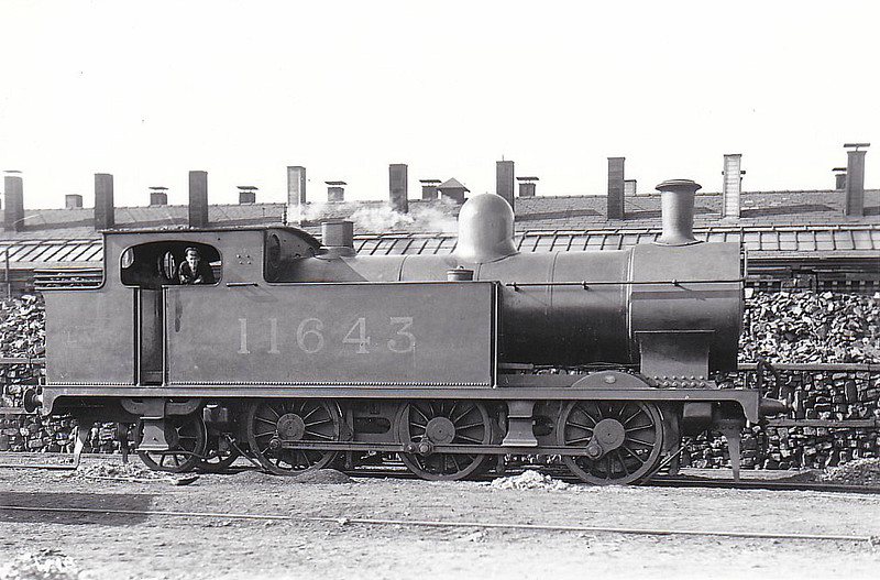 FR - 11643 - Pettigrew FR Class 94 'Improved Cleator Tank' 0-6-2T - built 1914 by Kitson & Co. as FR No.92 - 1923 to LMS No.11643 - 1933 withdrawn.