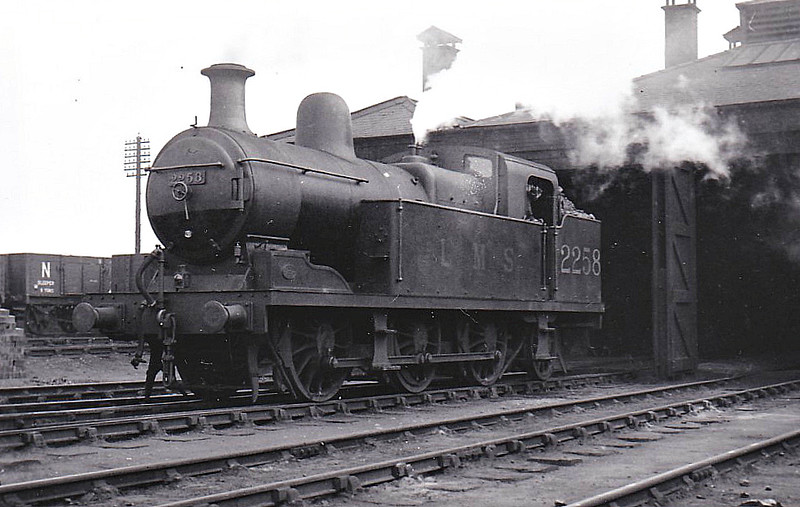 NSR - 2258 - Hookham NSR Class New L 3F 0-6-2T - built 11/13 by Stoke Works as NSR No.89 - 1923 to LMS No.2258 - 06/34 withdrawn.