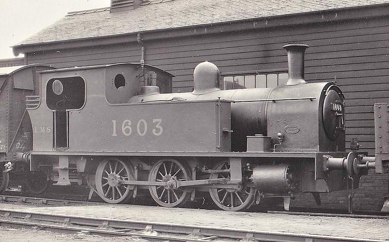 NSR - 1603 - Hookham NSR 0-6-0T - built 1919 by Kerr Stuart & Co. as NSR No.75 - 1923 to LMS No.1603 - 04/33 withdrawn.