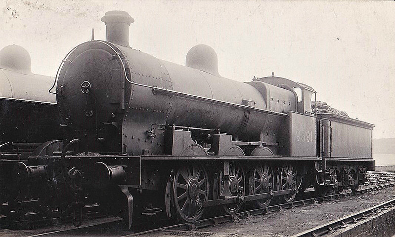 LNWR - 9391 - Webb LNWR Class B 0-8-0 - built 12/01 by Crewe Works as LNWR No.1894 - 08/27 to LMS No.9491, 06/51 to BR No.49391 - 01/62 withdrawn from 9D Buxton.