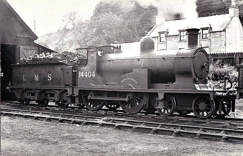 HR - 14404 BEN CLEBRIG - Drummond HR 'Small Ben' Class 4-4-0 - built 02/1899 by Dubs & Co. as HR No.8 - 01/23 to LMS No.14404, 01/48 to BR No.54404 - 10/50 withdrawn from 60D Wick.