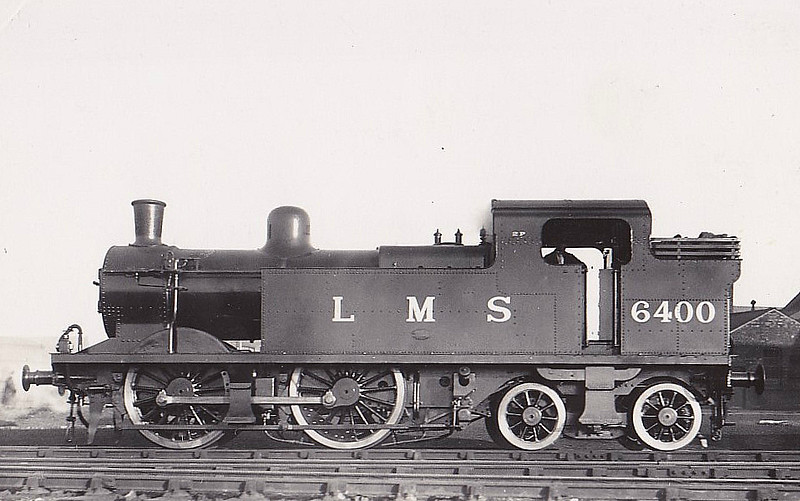 LMS - 6400 - Fowler LMS Class 2P 0-4-4T - built 12/32 by Derby Works - 1946 to LMS No.1900, 10/49 to BR No.41900 - 03/62 withdrawn from 22B Gloucester Barnwood.