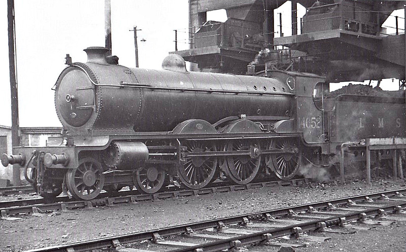 CR - 14652 - Pickersgill CR Class 60 4-6-0 - built 102/17 by St Rollox Works as CR No.62 - 1923 to LMS No.14652, 01/48 to BR No.54652 - 11/48 withdrawn from 66B Motherwell.
