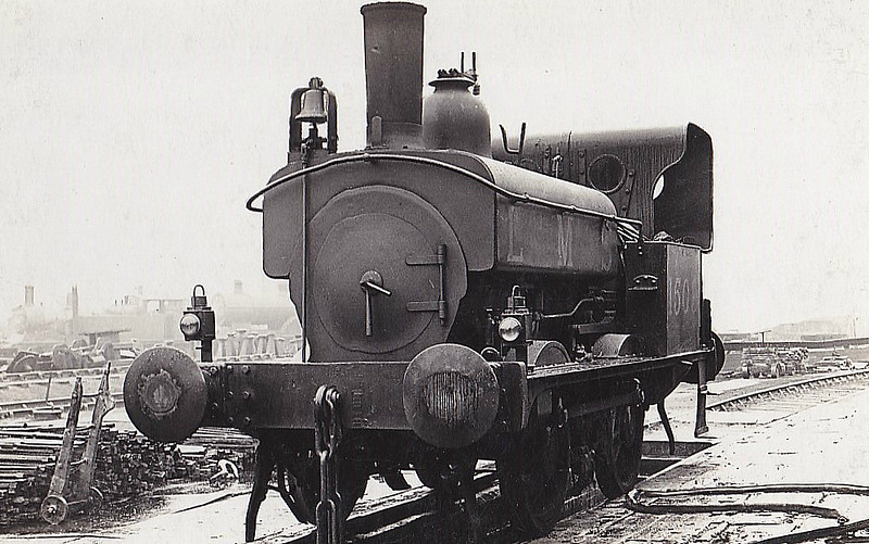 MR - 1503 - Johnson MR Class 1322 0F 0-4-0ST - built 09/1870 by Derby Works as MR No.1325 - to Duplicate List as No.1325A - 1907 to MR No.1503 - 07/28 withdrawn - note bell attached to smokebox to warn pedestrians of approach.
