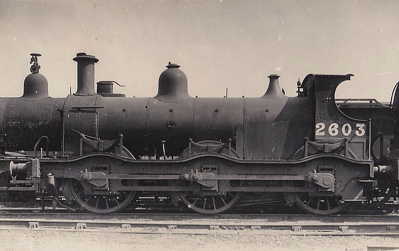 MR - 2603 - Kirtley MR Class 2F 0-6-0 - built 1869 by Dubs & Co. as MR No.711 - 1907 to MR No.2603 - 03/36 withdrawn, as seen here I think.